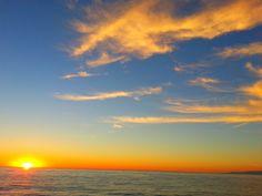 Sunset.....Hemosa pier