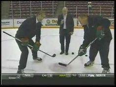 Woog and Hendrickson on hockey faceoffs Hockey Workouts, Minnesota Gophers, Wrestling, Sports, Hockey Drills, Lucha Libre, Hs Sports, Sport