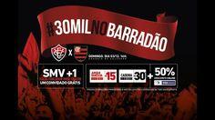 Vitória x Flamengo ingressos à venda com promoção