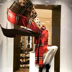 """BURBERRY,London,UK, The Cashmere Scarf....Made in Scotland"""", pinned by Ton van der Veer"""