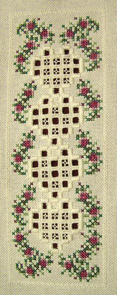 Hardanger and cross stitch embroidery. Embroidery Online, Types Of Embroidery, Learn Embroidery, Ribbon Embroidery, Embroidery Patterns, Hardanger Embroidery, Cross Stitch Embroidery, Cross Stitch Patterns, Bordados E Cia