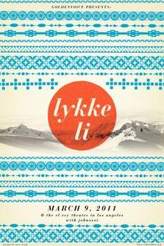 #lykke li #graphism #poster