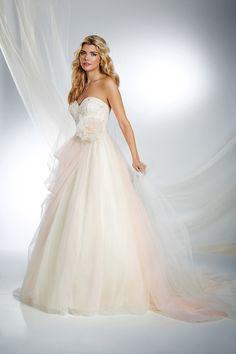 Sleeping Beauty Inspired Princess Wedding Dress - 2015 Disney's Fairy Tale Weddings by Alfred Angelo