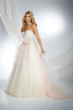 Sleeping Beauty Inspired Princess Wedding Dress - 2015 Disney's Fairy Tale Weddings by Alfred Angelo