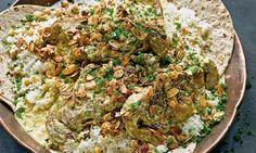 Yotam Ottolenghi's mansaf recipe