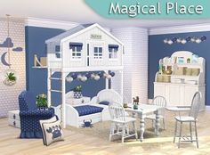 SIMcredible! Designs 4 | Kids rooms 1