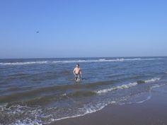 1 November 2014 in Noordwijk — 18 degrees air temperature, 15 degrees water temperature