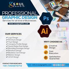 Contact us for Designing...👩💻 👉Social Media Posts 👉Social Media Posts Animated 👉T-shirt Designing 👉Flyers 👉Brochures 👉Magazine 👉Visiting Cards 👉Logo 👉Website & all Graphic Designing related work.. N Logo Design, Graphic Design Services, Brochure Design, Flyer Design, Company Profile Design, Motion Poster, Brand Packaging, Brochures, Flyers