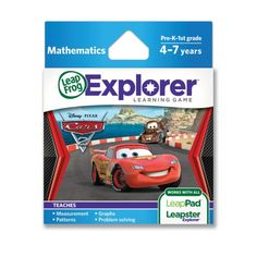LeapFrog Explorer Learning Game: Disney-Pixar Cars 2 (works with LeapPad & Leapster Explorer) - Find Me The Cheapest Price	: $14.21
