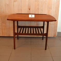 Mid-Century Modern - Table basse en teck