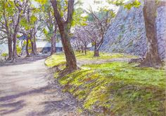 Acoustic Drawings The Shinji Ogata Gallery: The Landscapes of my Home Area 4' 熊本の風景 4'