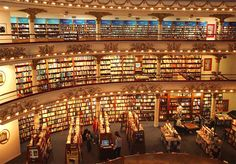 Buenos Aires: amazing bookstore