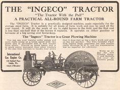 Ingeco 1915 - my goodness! We have the stationary engine