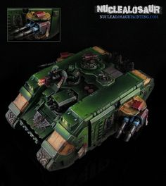 CoolMiniOrNot - Dark Angels Land Raider 1 by nuclealosaur