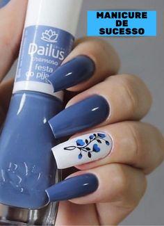 Curso manicure iniciante link na Bio do perfil . Cute Acrylic Nails, Gel Nails, Nail Polish, Nail Nail, Fabulous Nails, Perfect Nails, Stylish Nails, Trendy Nails, Nail Paint Shades