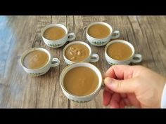 Jak si vyrobit dezert šálku kávy - YouTube Youtube, Biscotti, Tea Time, Tableware, Shake, Kitchen, Food, Coffee Lovers, Sweets
