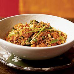 Superfast Asian Recipes | Tofu Fried Rice | CookingLight.com