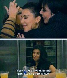 Keeping up with the Kardashians, Kourtney Kardashian