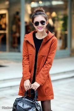 Oranssi takki / Orange coat