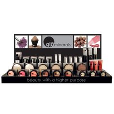 glo Mineral Makeup 281-577-9128 www.allaroundmassageandsalon.com