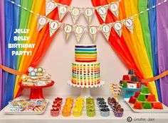 {BN Black Book of Parties} – Rainbow Jelly Bean Party