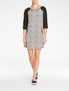 MAISON SCOTCH   FUN PRINT WITH GREAT CUT  - DRAPES BEAUTIFULLY ON THE BODY. DRESS UP OR DOWN   $169.95