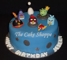 Angry Birds space cake by The Cake Shoppe 21, via Flickr