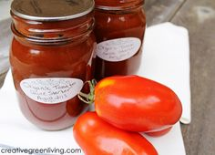 Canning tomatoes: How to make tomato sauce for basically free! This is awesome!