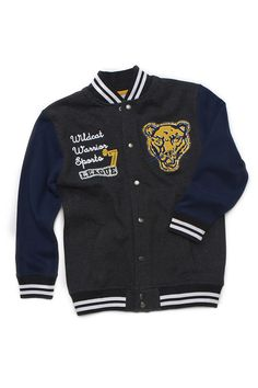 #MeijerKidsLooks and #BacktoSchool. Boys Letterman Jacket (available only in stores) Click image to see weekly ad