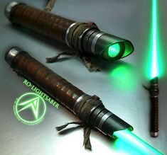 Artist creates custom made Star Wars lightsabers. A must have for the serious cosplayer.
