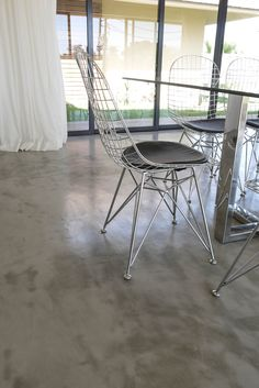 CreteCote is a thin skim-on cement-based floor covering for concrete floors which is versatile, durable and achieves a concrete floor look. Shed Homes, Grand Designs, Polished Concrete, Floor Finishes, Floor Design, Concrete Floors, Office Ideas, Cement, It Is Finished