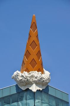 Claes Oldenburg Art | CONE von / made by Claes Oldenburg, Köln ,Cologne | Flickr - Photo ...
