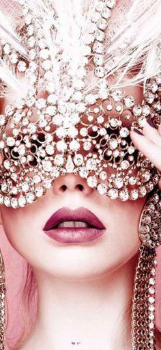 Crystal Mask | Culture Costumes & Masks | RosamariaGFrangini |