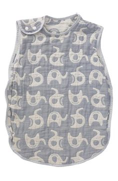 Living Textiles Reversible Muslin Sleeping Bag (Baby & Toddler) available at #Nordstrom