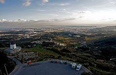 Setubal from Palmela. by zanzibarcordoba, via Flickr