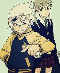 Day 8 | Favorite anime couple | Soul and Maka (Soul Eater) | I love how protective Soul is, he's more than willing to die for her.