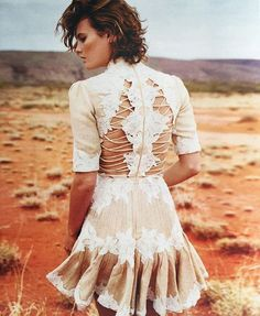 Zimmermann Mischief Rosette Dress from Master and Mischief, as seen in Sunday Life Magazine, styled by Penny McCarthy.