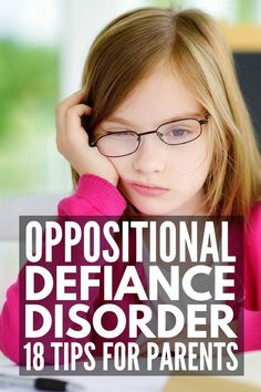 Dealing with Oppositional Defiant Disorder? 18 Tips for Parents and Teachers Dealing with Oppositional Defiant Disorder Oppositional Defiant Disorder Strategies, Oppositional Defiance, Child Behavior Problems, Kids Behavior, Parenting Teens, Parenting Hacks, Parenting Classes, Parenting Styles, Parenting Plan