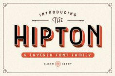 The HIPTON - 50% OFF by ilhamherry on @creativemarket
