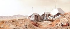5 | The Robot-Constructed, Modular Housing For Life On Mars | Co.Design | business + design