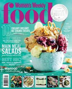 october women's weekly food magazine - Google Search