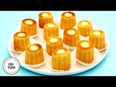 How to Make Adorable Lemon Babas Anna Olson, Ham And Beans, Ham And Bean Soup, Party Desserts, Dessert Recipes, Fun Recipes, Baba Recipe, Rib Roast Recipe, Recipes