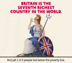 Britain is the 7th Richest Country in the World. But...