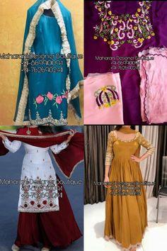 Punjabi Suit Boutique, Punjabi Suits Designer Boutique, Boutique Suits, Pakistani Designer Suits, Embroidery Designs, Embroidery Suits Design, Patiala Salwar, Chandigarh, Salwar Suit With Price