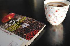 Norwegian Wood and a cup of tea. My first Haruki Murakami crush.