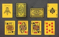 Deck View: Yellow Jacket Playing Cards