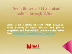 Send flowers Online to Hyderabad trhough Winni