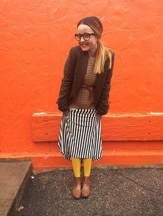 #fashion #dress #springs #nerdy #strips