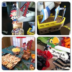 Pirate Party Decor - Jake and the Neverland Pirates Birthday