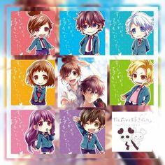 All Anime, Anime Chibi, Me Me Me Anime, Anime Love, Manga Anime, Anime Art, Koi, Zutto Mae Kara, Honey Works
